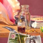 "Detail from ""Dora's Secret"" by Daphne Wynne Nixon"