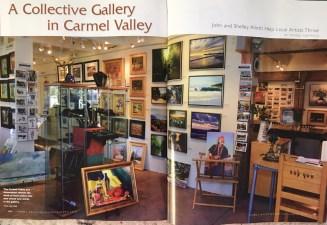 CVAA Gallery article in Carmel Magazine, spring/Summer 2018