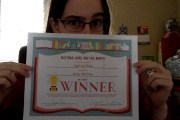 NaNoWriMo 2015 winner, baby! Woo!
