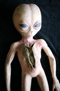 Gory alien autopsy