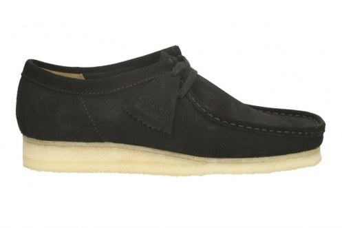 Wallabee Black Sde £89 €115
