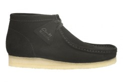 Wallabee Boot Black Sde £95 €125