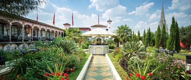 The Spanish Garden, Kensington Roof Gardens