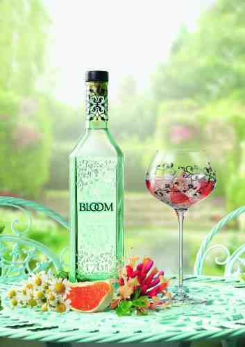 BLOOM Gin lifestyle with botanicals 1MB