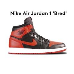 4 - Nike Air Jordan 1 'Bred'