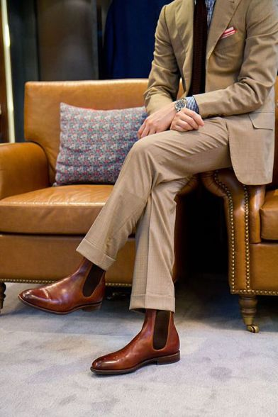 Boots and Suit 1