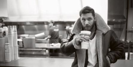 Tom Hardy Shearling