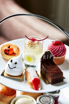 Sopwell House Halloween Afternoon Tea (Close Up)