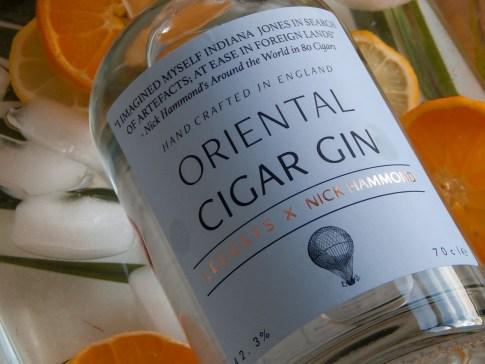 Oriental CigarG Gin close up