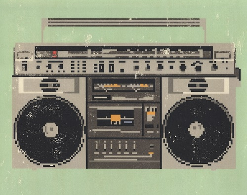 Boombox by Hollis Brown Thornton