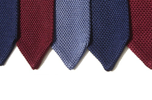 TheTieBar Pointed Tip Knit Ties
