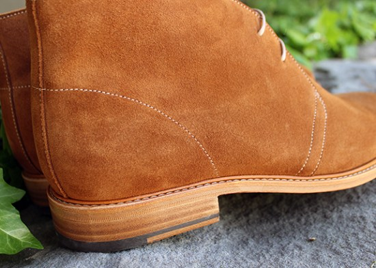 In Review: The Jack Erwin Mason Suede Chukka Boot   Dappered.com