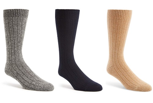 Pantherella Cashmere Blend Mid Calf Socks
