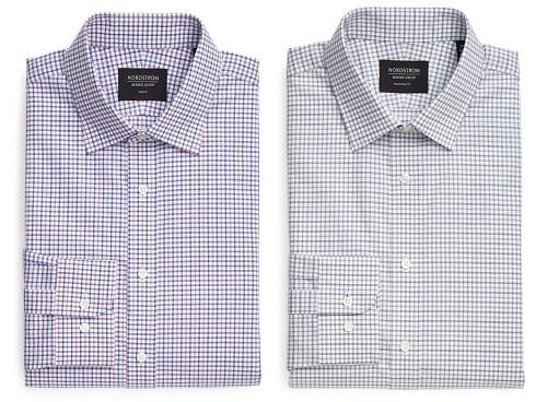 Nordstrom Check Dress Shirts