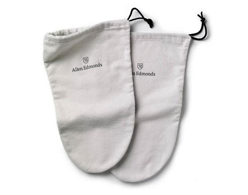 Allen Edmonds Cotton Flannel Shoe Bags
