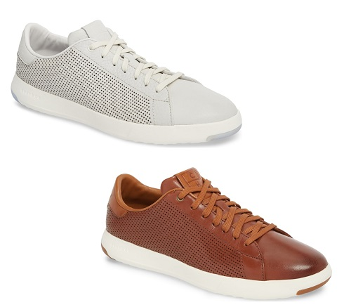 Cole Haan GrandPro Perforated Low Top Sneaker