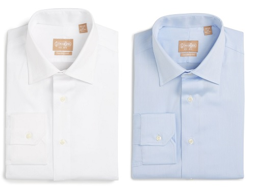 Made in the USA Gitman Tailored Fit Dress Shirts