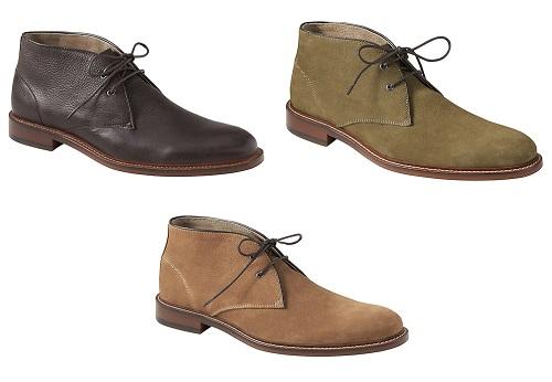 Norman Leather Chukka Boot