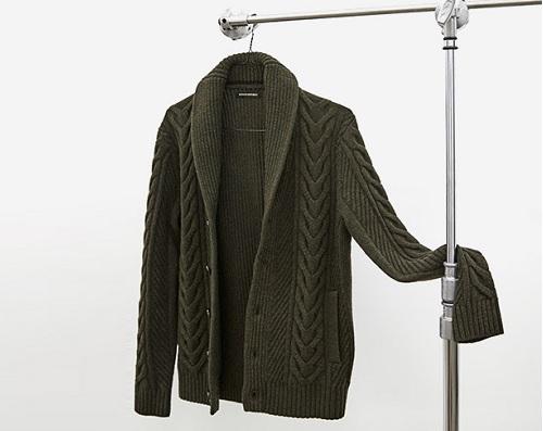 Merino Wool Blend Cardigan