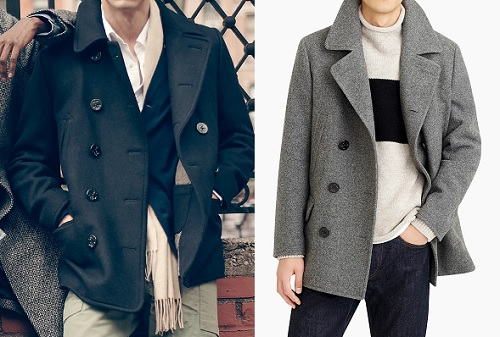 J. Crew Dock Peacoat w/ Thinsulate