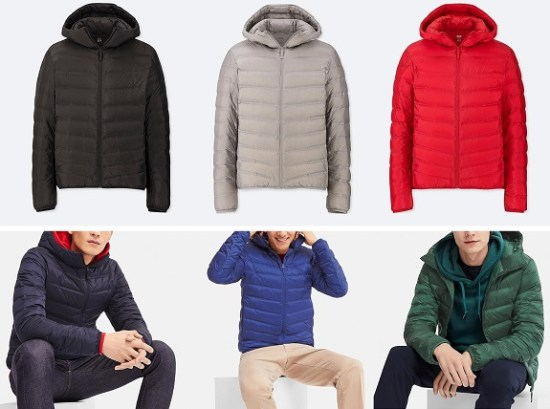 UNIQLO Men's Ultra Light Seamless Down Parka