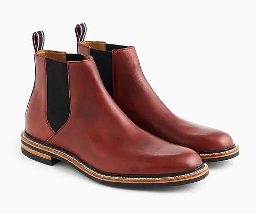 Oar Stripe Chelsea Boots