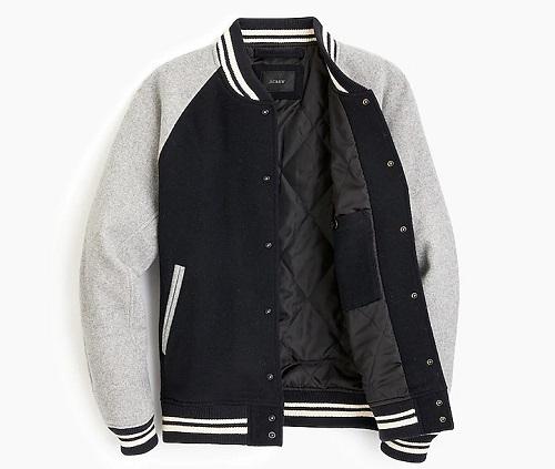 J. Crew Letterman Jacket