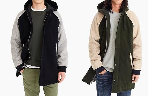 J. Crew Wool Sidline Jacket