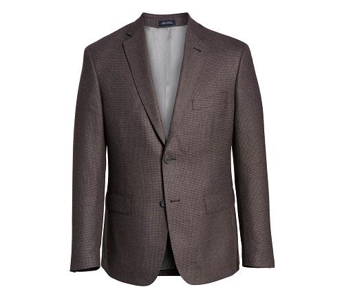 John W. NordstromHoundstooth Wool Sport Coat