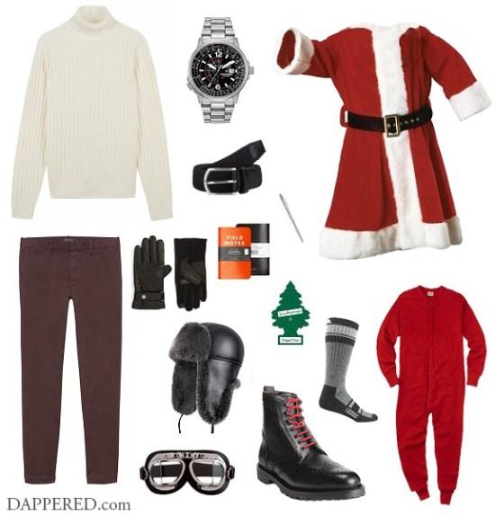 Style Scenario: Santa on Christmas Eve | Dappered.com