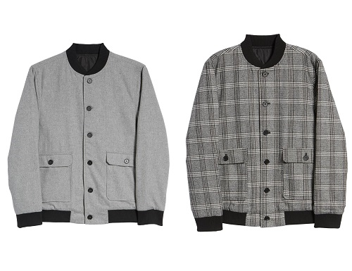 Calibrate Wool Blend Bomber Jacket