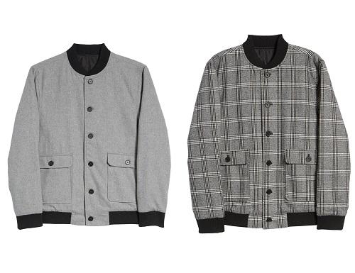 Calibrate Wool Blend Bomber Jacket