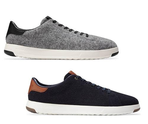 Cole Haan Wool GrandPro Tennis Sneaker