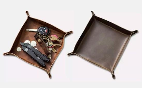 Popov Horween Leather Valet Trays
