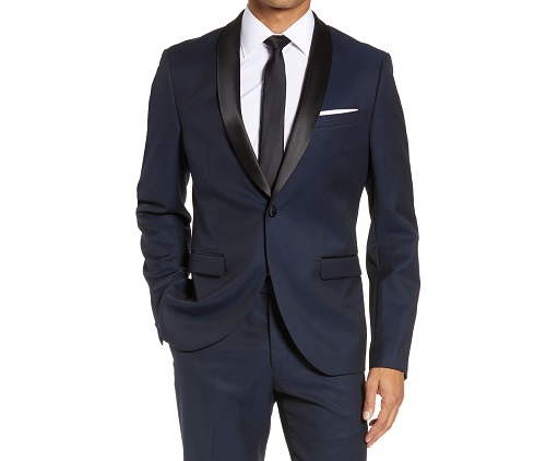 Calibrate Extra Trim Fit Dinner Jacket & Matching Pant