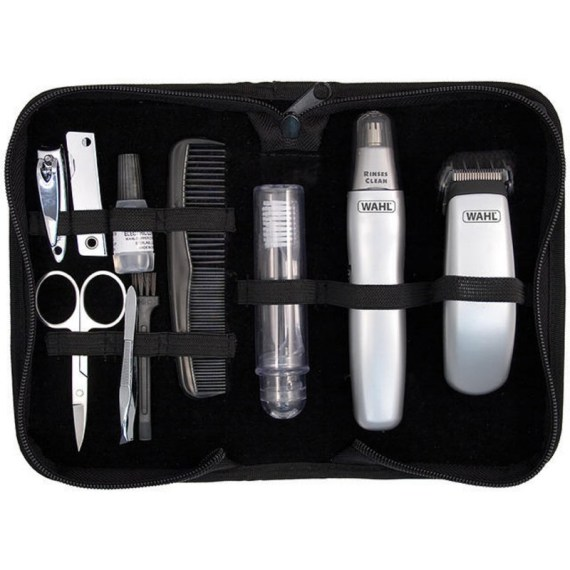 new-mems-wahl-grooming-gear-travel-kit-battery-hair-ear-and-nasal-trimmer-set