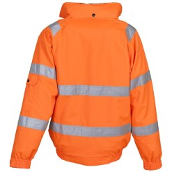 Waterproof with taped seams. Breathable. Soft touch removable pile lining. Pile lined collar with concealed detachable hood.