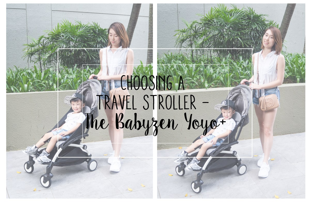 Choosing a Travel Stroller – The Babyzen Yoyo+
