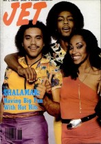 CLASSIC SHALAMAR LINE UP ON JET COVER