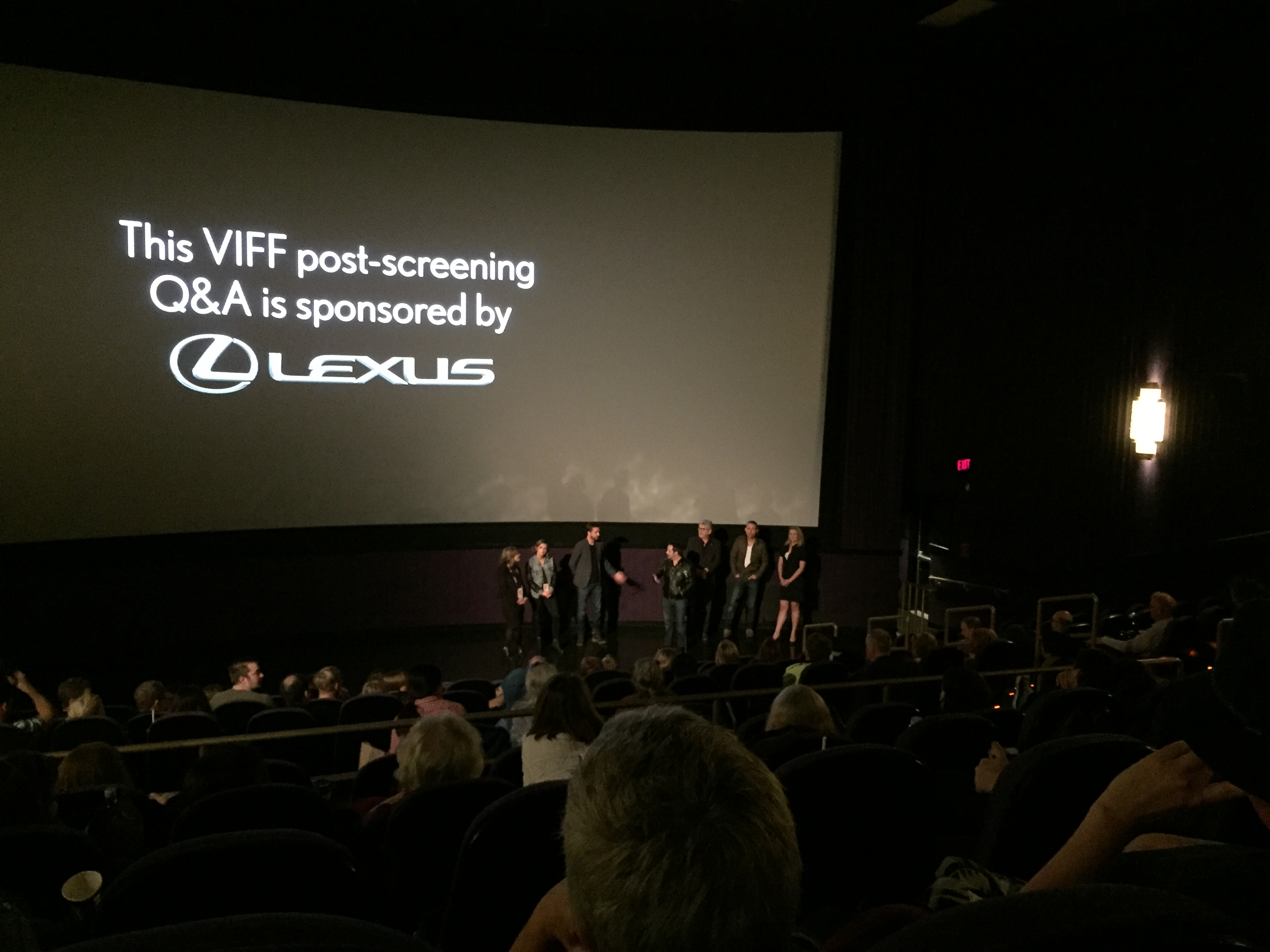Ganjy & Marrying the Family Creators in Q&A at VIFF 2016