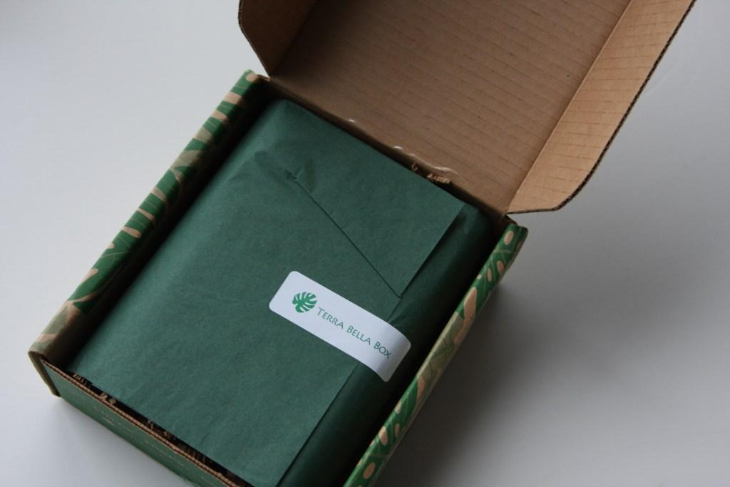 October Terra Bella Subscription Box packaging