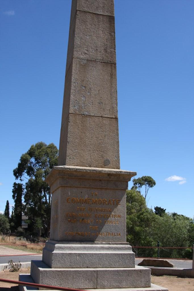 Burke & Wills Monument