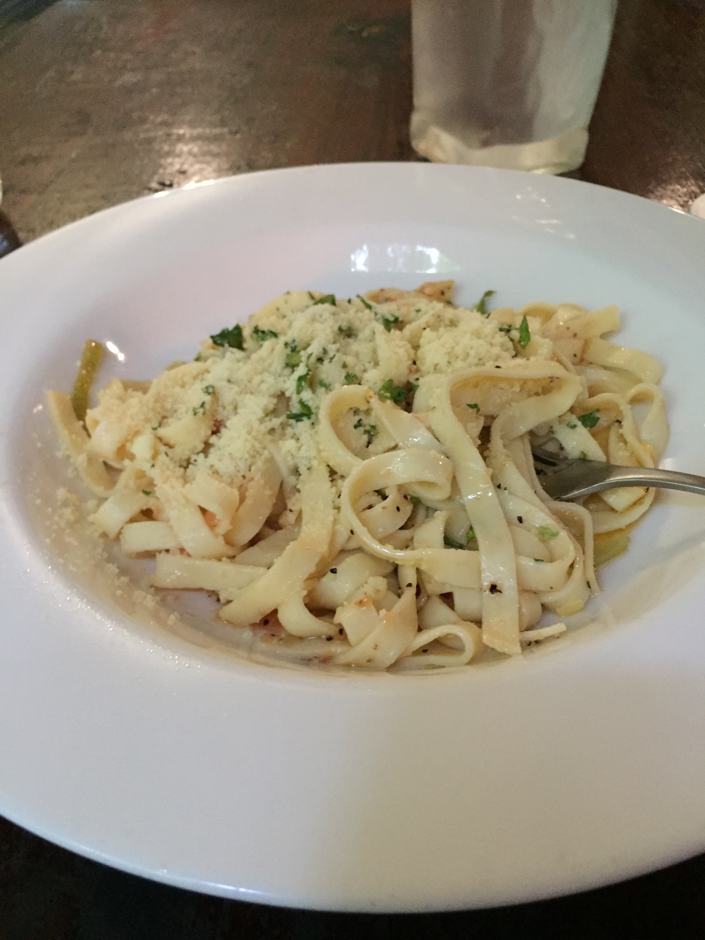 Linguine Pasta in the Daintree Rainforest