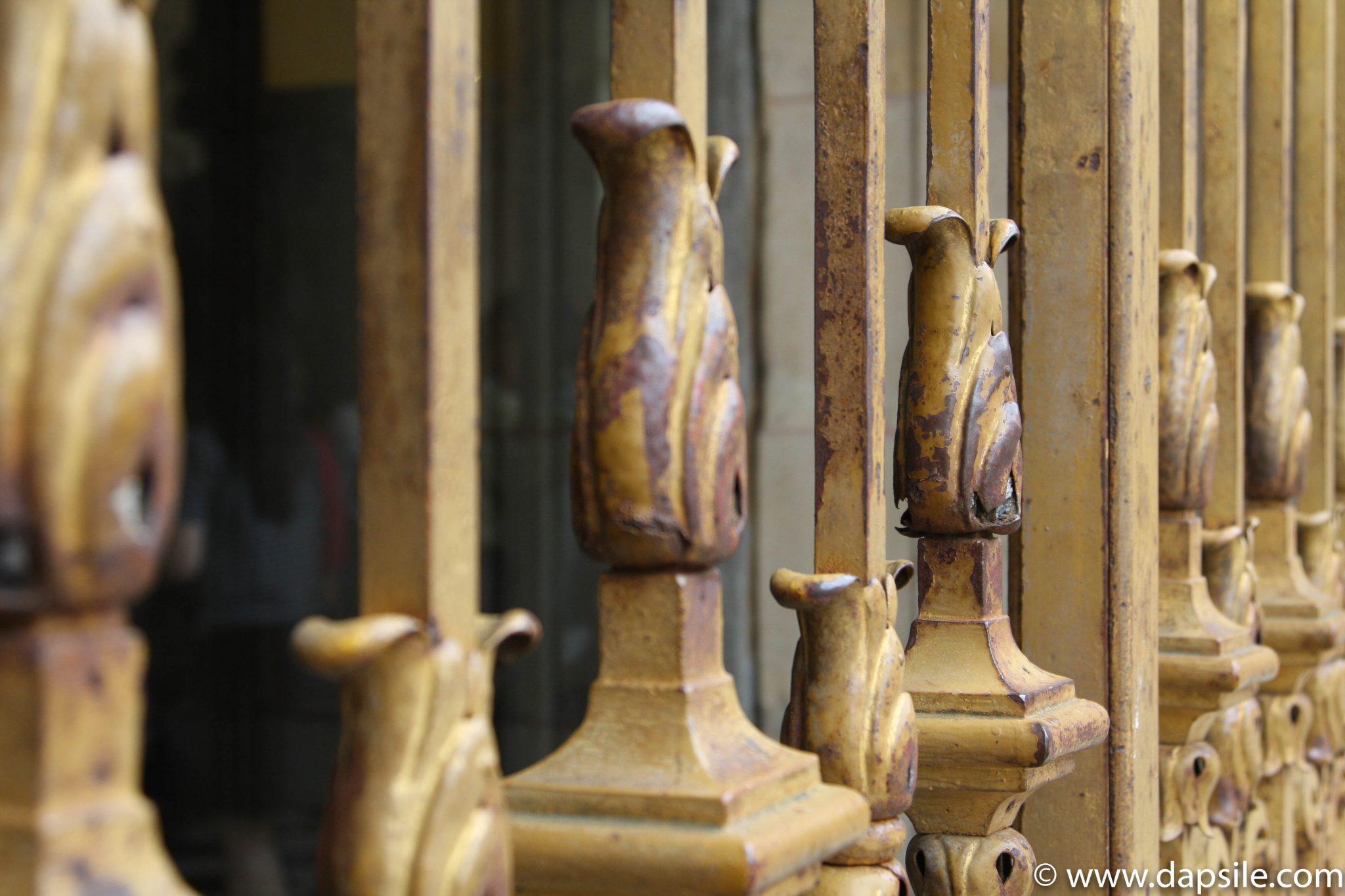 Decorative Bars at the Palace of Versailles at Paris Sights