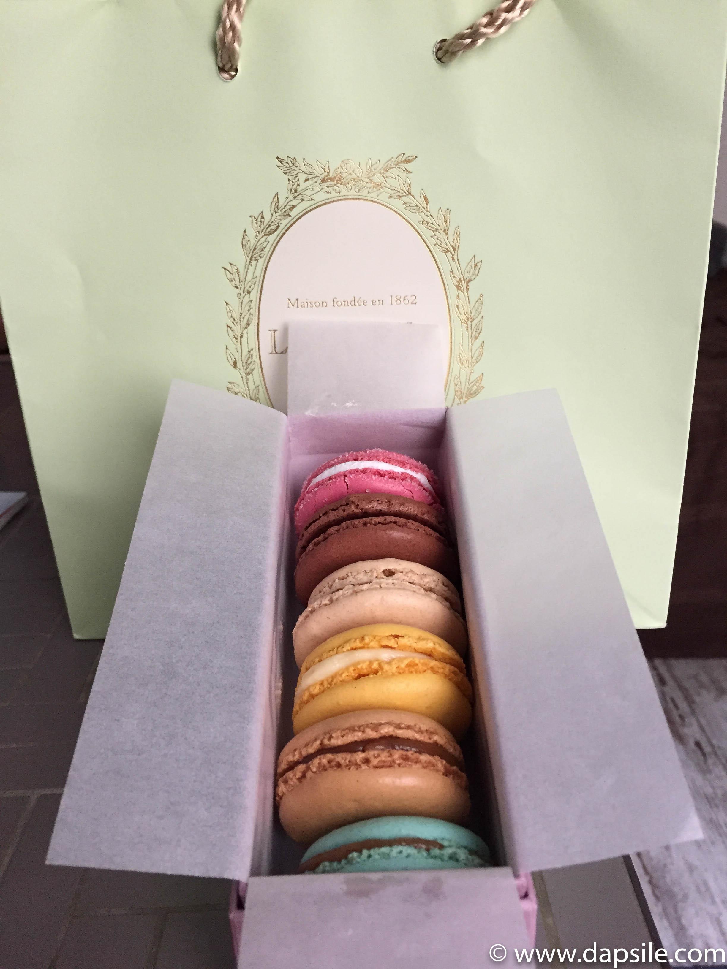 Laduree Macarons in Paris Sights