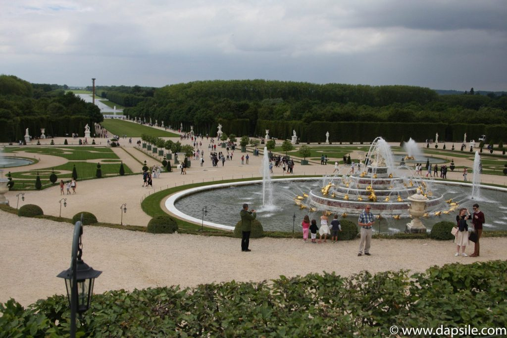 Water Fountains and Gardens at Palace of Versailles Paris Sights