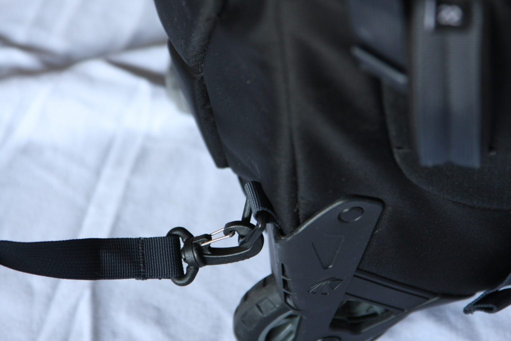 Eagle Creek Doubleback Wheeled Backpack hook