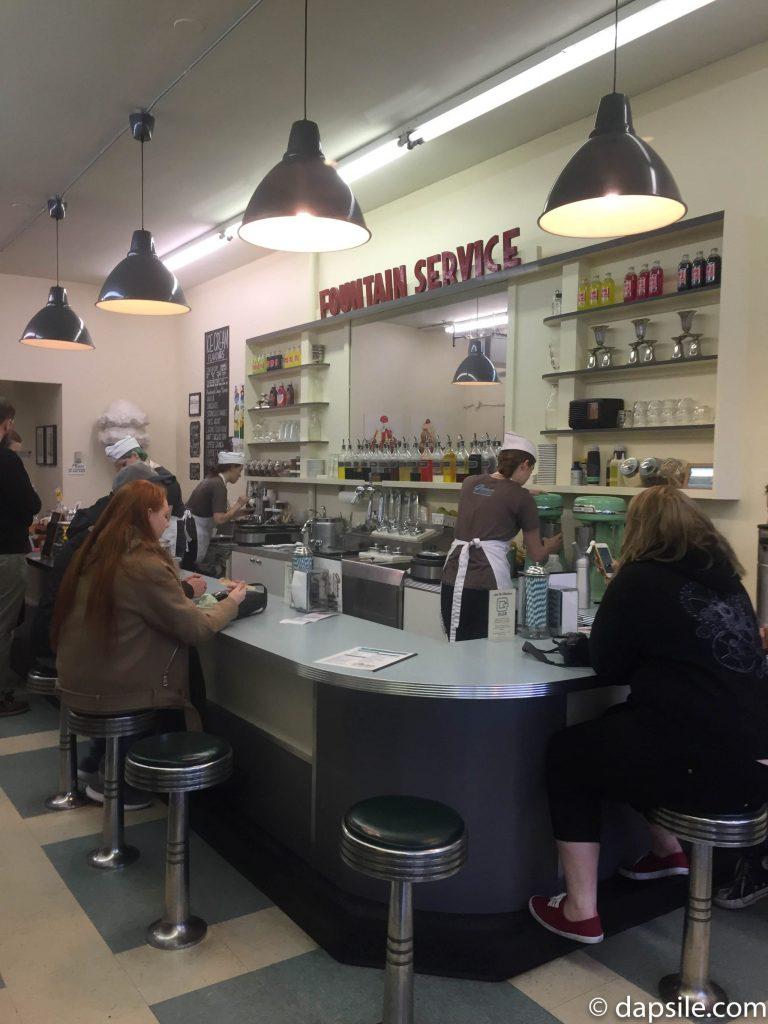 Glenburn Soda Fountain shop