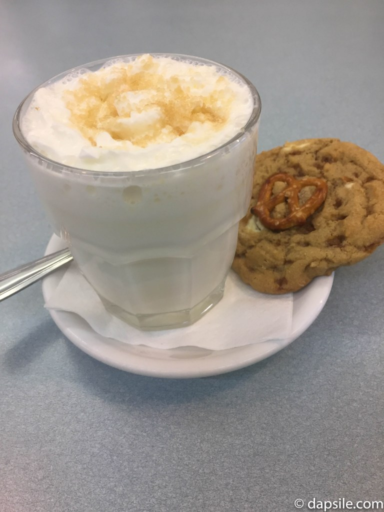 Hot Chocolate Festival Glenburn Sweet and Salty Hot Chocolate and Cookie