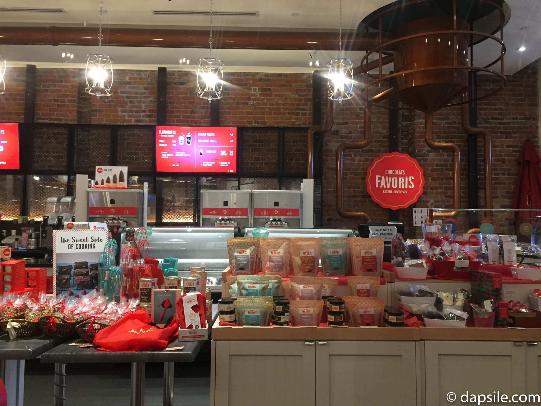 Chocolats Favoris Treats and Wall of Ice Cream with Dips Things to do in Victoria